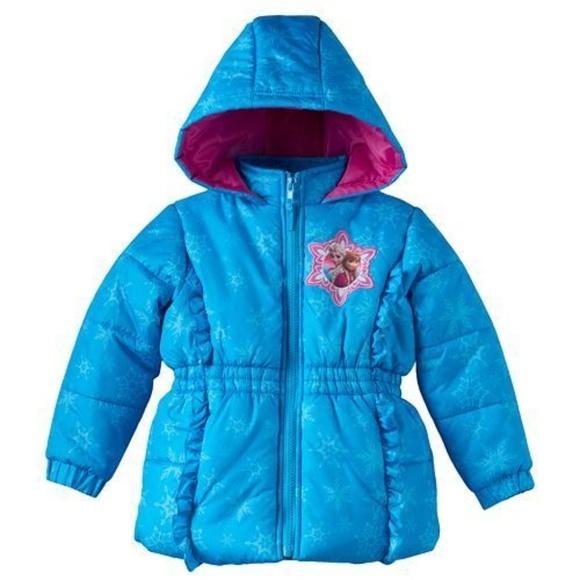 34d034af2af4 Disney Jackets & Coats | Frozen Anna Elsa Puffer Coat Jacket | Poshmark